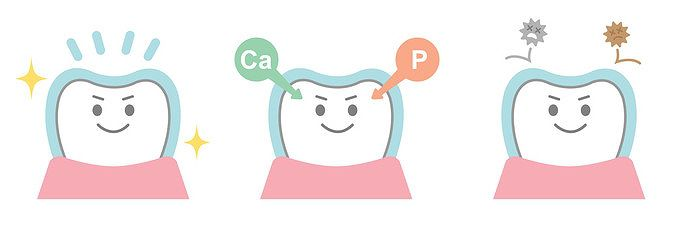 虫歯菌の酵素抑制